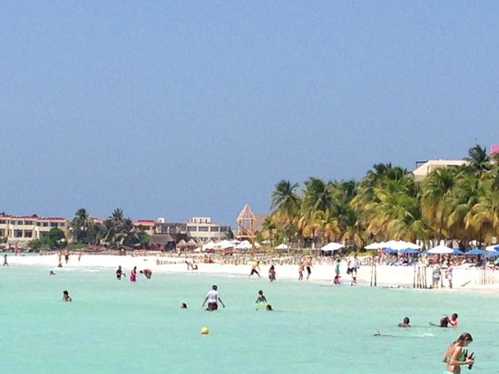 Ixchel Beach Hotel : Playa Norte