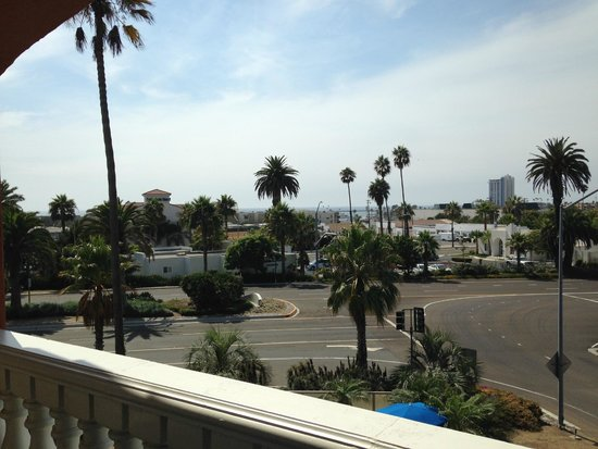 Comfort Suites Oceanside Marina : Room 326's view from private balcony