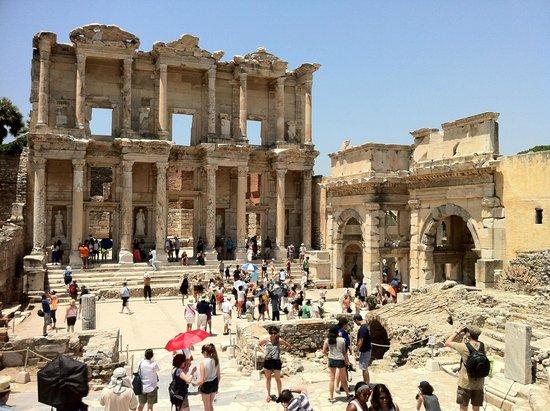 Ephesus Tours: Library at Ephesus