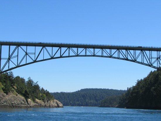 Deception Pass Tours: View of the Bridge