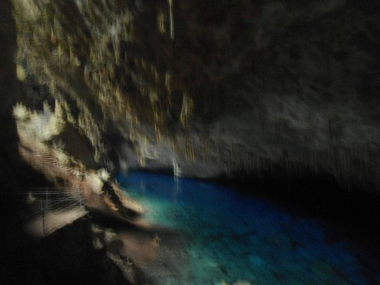 Gruta do Lago Azul : INSIDE MINE