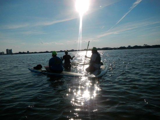 Water Warrior: Becky Instructs as Sun Sets