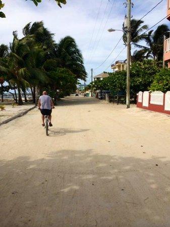 Colinda Cabanas: Biking in town
