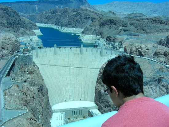 Hoover Dam: Great view