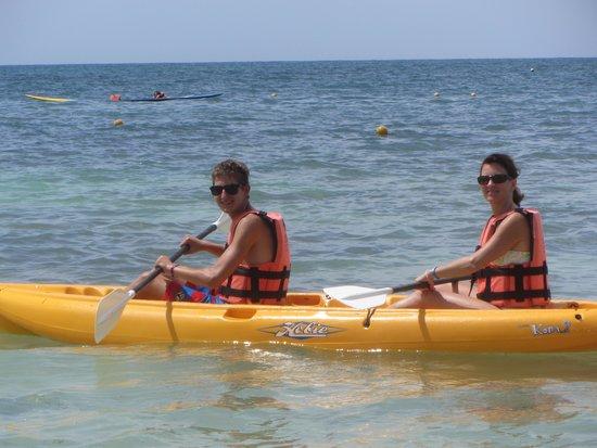 Hotel Marina El Cid Spa & Beach Resort : Kayaking - great time.