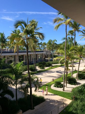 Barcelo Bavaro Palace: View from the hotel.