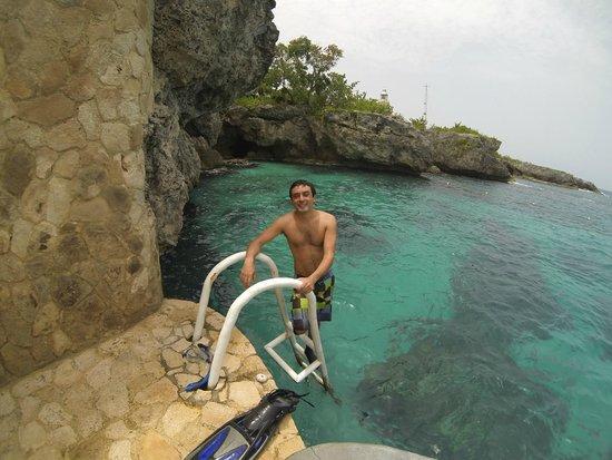 The Caves: Bajada mar