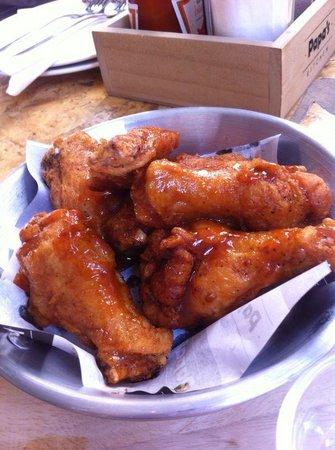 Papa's Kitchen, Bangkok: Chicken wings