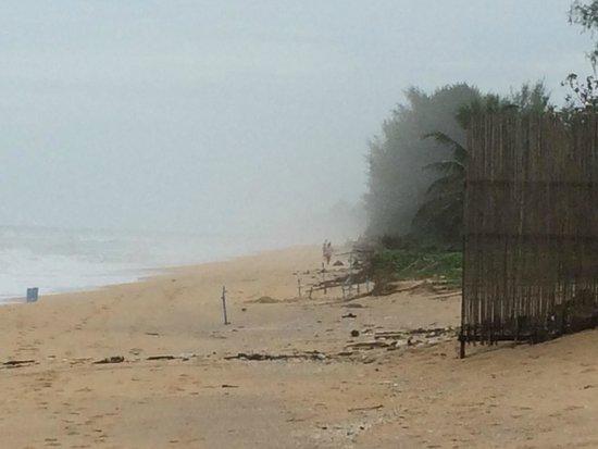 Aleenta Resort & Spa Phuket Phangnga: almost private beach