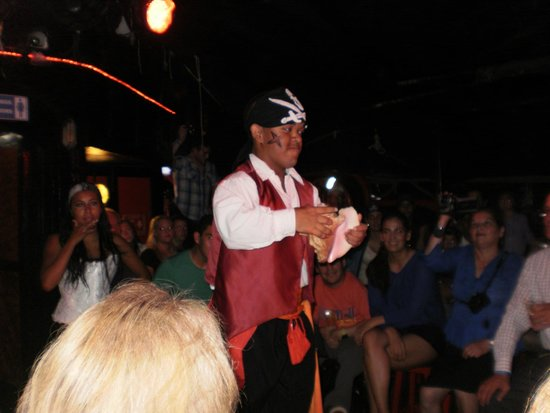 Captain Hook Barco Pirata Pirate Ship: ¡empezando el show!