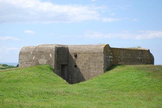 Batterie de Longues : German bunker at Longues-sur-Mer