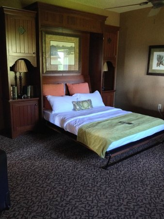 Murphy bed in Junior suites