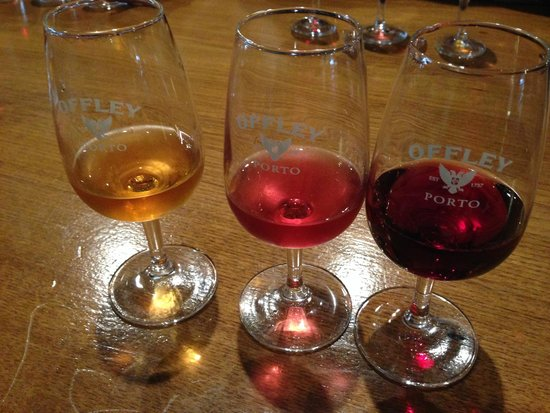 Offley Cellars : 3 of the lovely wines from the tasting