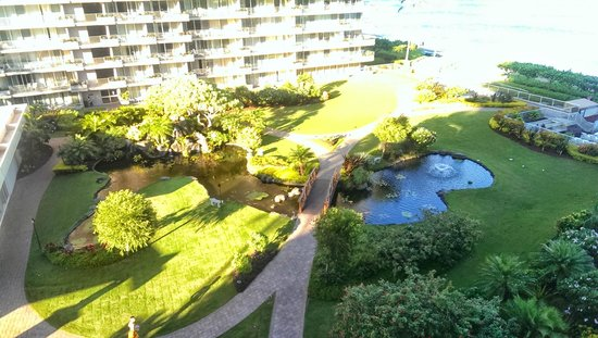 Aston at The Whaler on Kaanapali Beach : Hotel view from the 6th floor