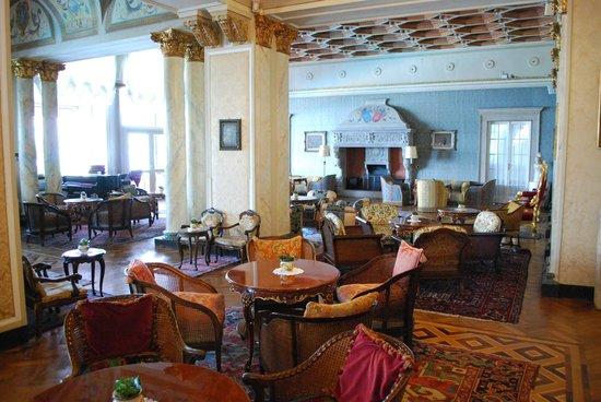 Grand Hotel Villa Serbelloni : Sitting area