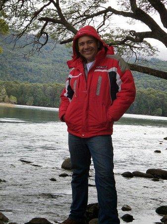 Lago Steffen: Hermoso sonido del agua