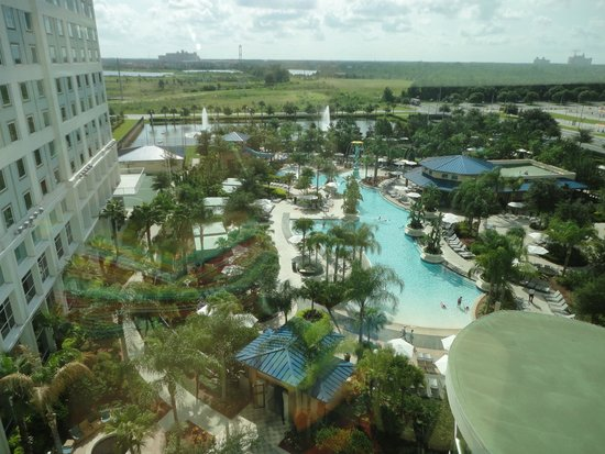 Hilton Orlando: view from room