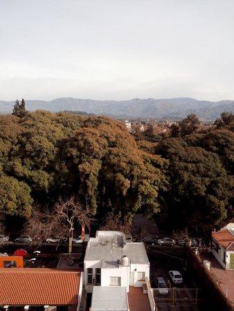 Hotel Aconcagua: Vista do nosso quarto.