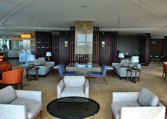 Hilton Kyiv: VIP Lounge on 7th Floor