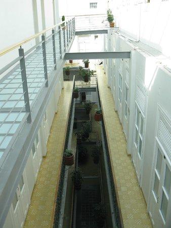 Hotel Principal: corredor