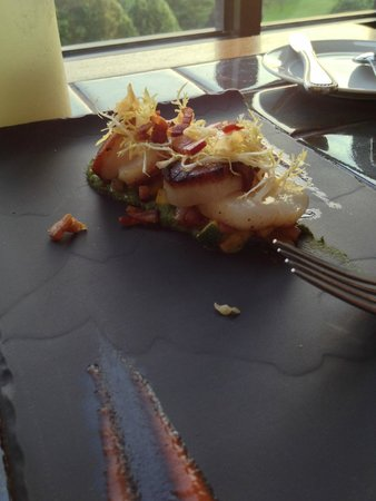 Vue 1913 : Seared Scallops