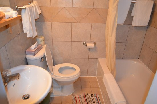 Auberge Mountain View Inn: Clean and Updated Bathrooms