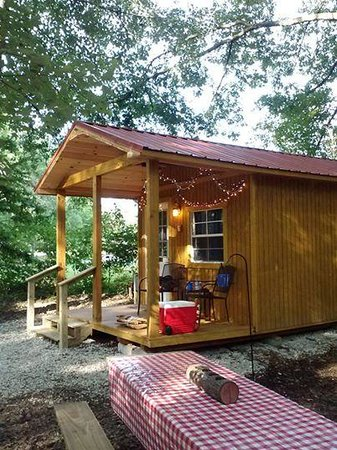 Falls Creek Cabins And Campground: Our Cozy Cabin