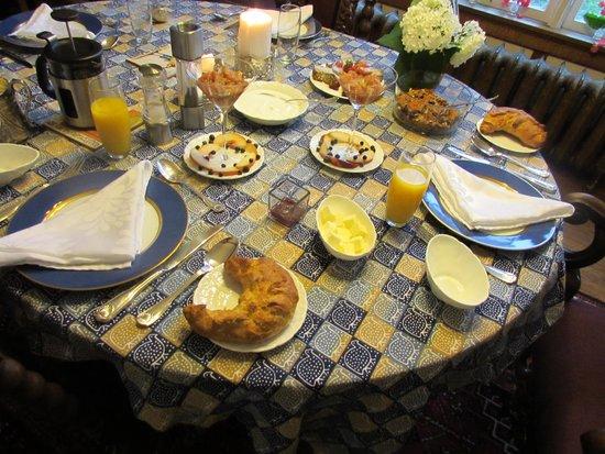 Algonquin House: petit dejeuner