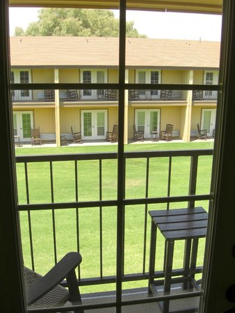 Furnace Creek Inn and Ranch Resort : Our view