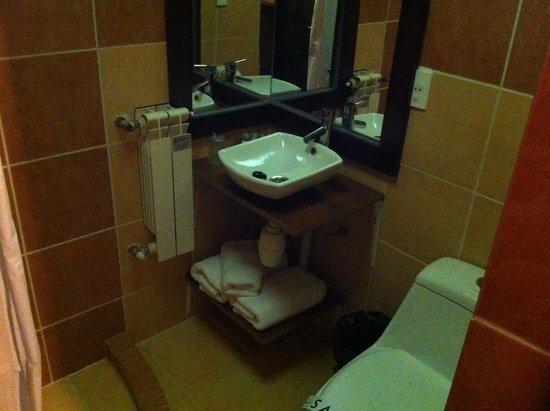 Hotel Jardines de Uyuni : Bathroom 126