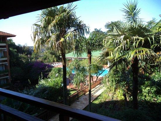 Raices Esturion Hotel : hotel esturion iguazu vista desde el lobby
