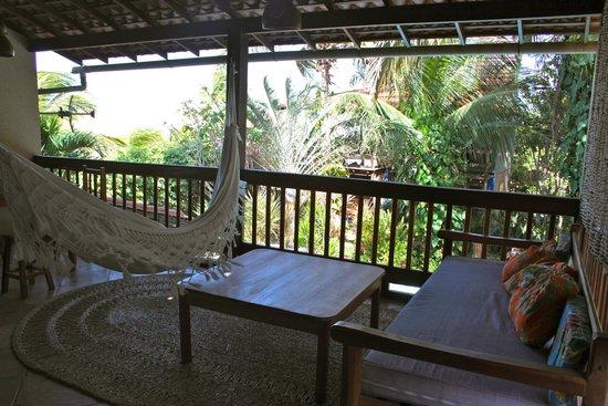 Pousada Vila Bela Vista: il terrazzo della camera