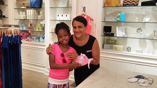 "Eau Palm Beach Resort & Spa : ""Maria"" in the Eau Palm Resort & Spa Gift Shop was the sweetest!"