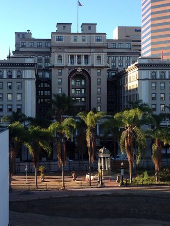 The US Grant : From across the street at Horton Plaza