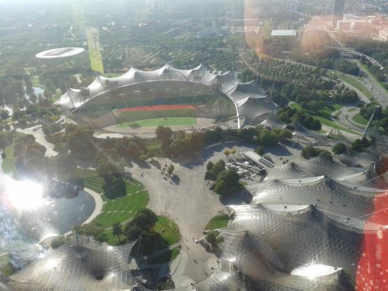 Olympiapark: vista da torre