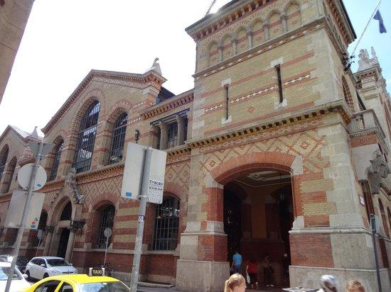 Central Market Hall: Mercado de Budapeste