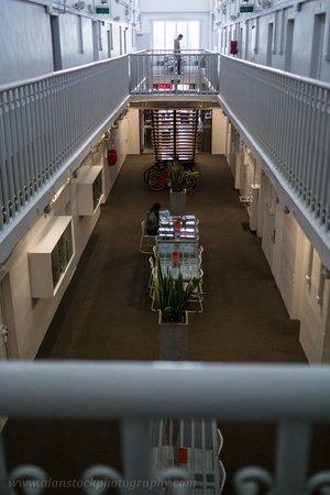 Jailhouse Accommodation: Main hall