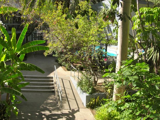 Highland Gardens Hotel : Pool area