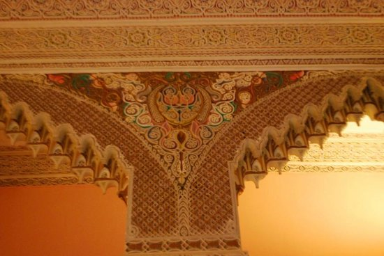 Dar Jameel : ceiling of quiet room