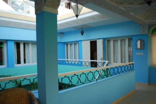 Dar Jameel : 3rd floor looking to  Suite Leila
