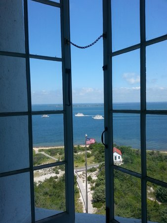 Fire Island Lighthouse: View from a window