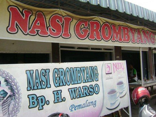 Central Java, Indonesia: warung grombyang pak warso pemalang