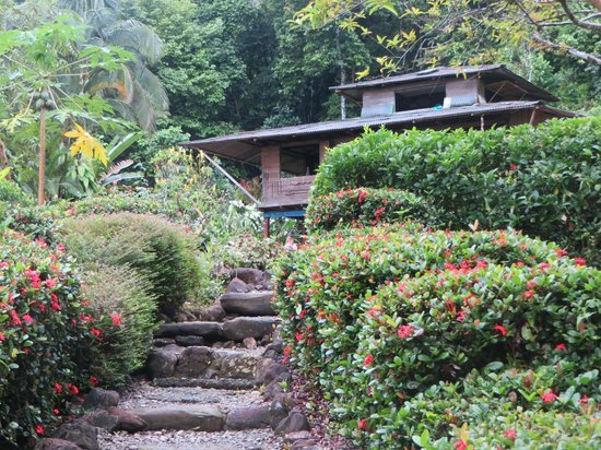 Morromico : L'hotel vue de la plage
