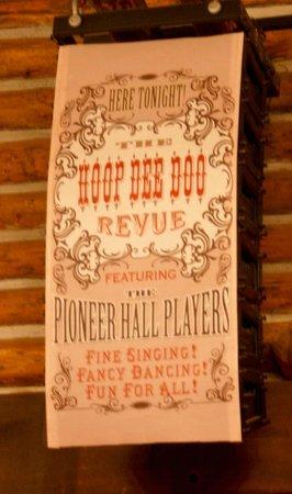 The Hoop-Dee-Doo Musical Revue: Interior Sign