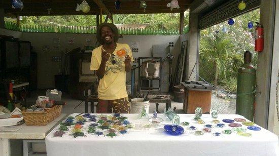 Myett's Garden and Grill: Loja de artesanato