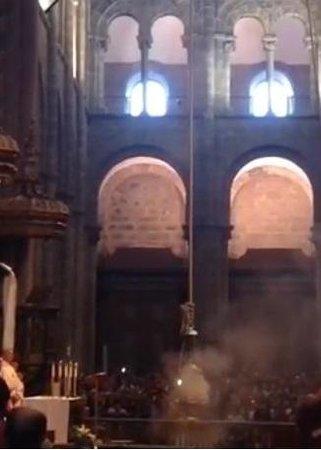 Kathedrale von Santiago de Compostela: Missa Botafumeiro