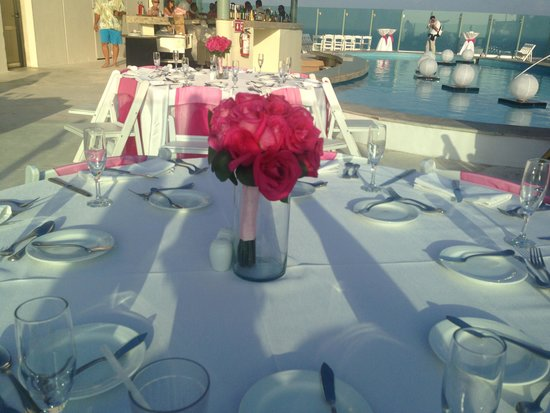 Beach Palace: Heavenly reception!