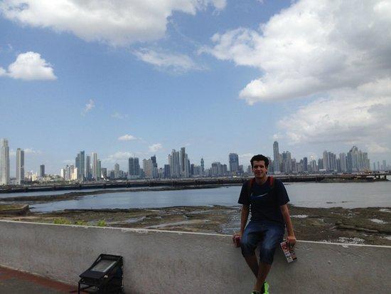 Casco Viejo: Vista de Panama City desde el Casco Antiguo