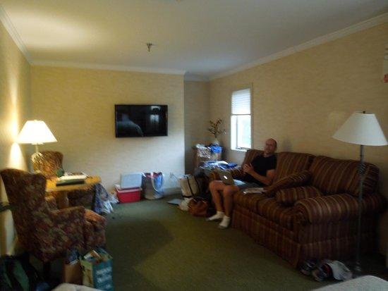 Stoweflake Mountain Resort & Spa : plenty of space