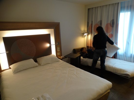 Novotel Paris Les Halles: Tipo e posicionamento das camas